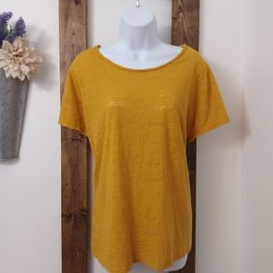 Cato T-Shirt Blouse Golden Yellow 22/24